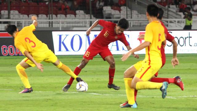 Foto: Laga Timnas U-16 vs China Berakhir Imbang (480103)