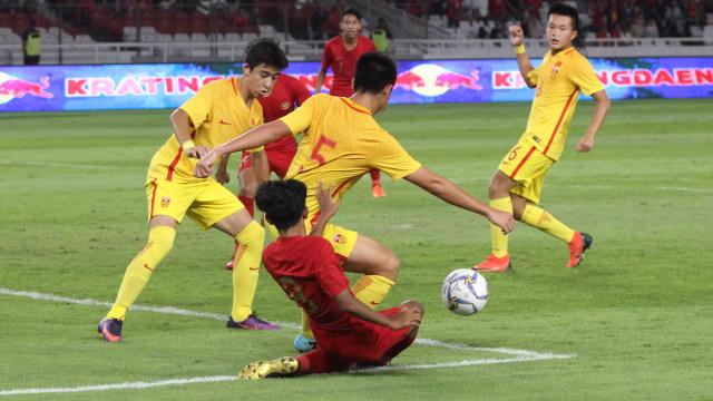 Foto: Laga Timnas U-16 vs China Berakhir Imbang (480119)