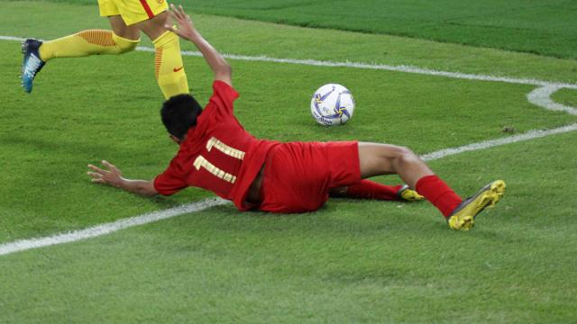 Foto: Laga Timnas U-16 vs China Berakhir Imbang (480117)