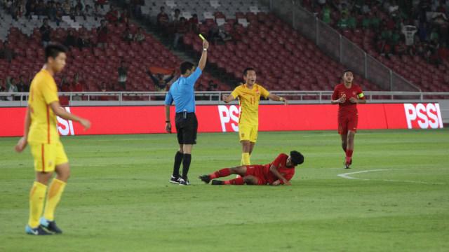 Foto: Laga Timnas U-16 vs China Berakhir Imbang (480113)