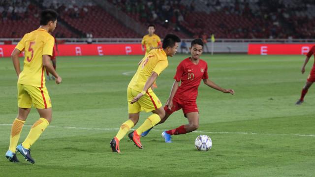 Foto: Laga Timnas U-16 vs China Berakhir Imbang (480105)