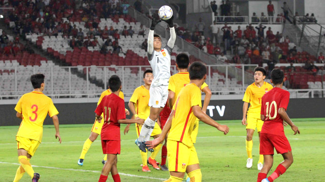Foto: Laga Timnas U-16 vs China Berakhir Imbang (480121)