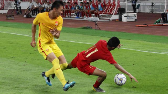 Foto: Laga Timnas U-16 vs China Berakhir Imbang (480107)