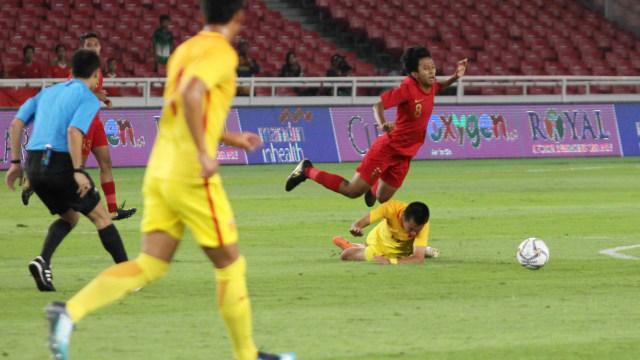 Foto: Laga Timnas U-16 vs China Berakhir Imbang (480112)