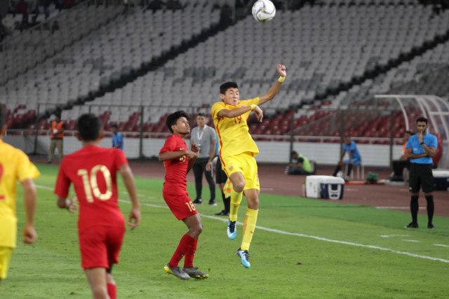 Foto: Laga Timnas U-16 vs China Berakhir Imbang (480108)