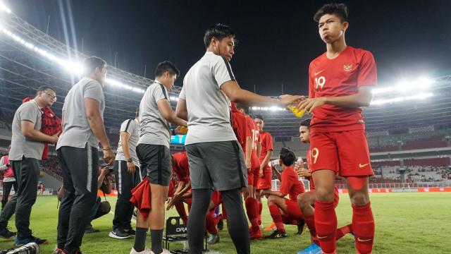 Foto: Laga Timnas U-16 vs China Berakhir Imbang (480100)