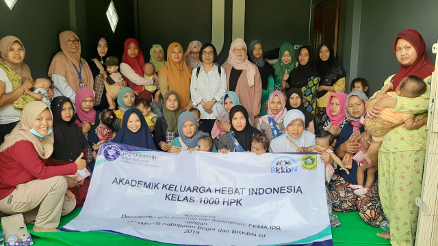 Kelas Akademi Keluarga Hebat Indonesia 2019 Bantu Warga Bogor