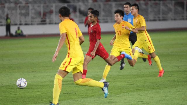 Foto: Laga Timnas U-16 vs China Berakhir Imbang (480115)