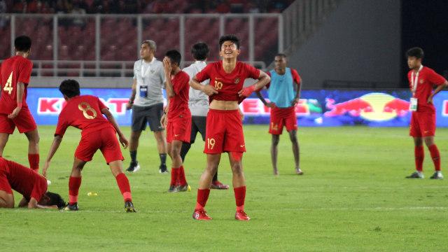 Foto: Laga Timnas U-16 vs China Berakhir Imbang (480124)