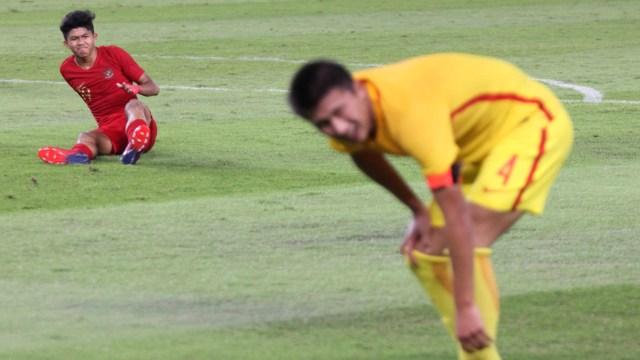 Foto: Laga Timnas U-16 vs China Berakhir Imbang (480125)