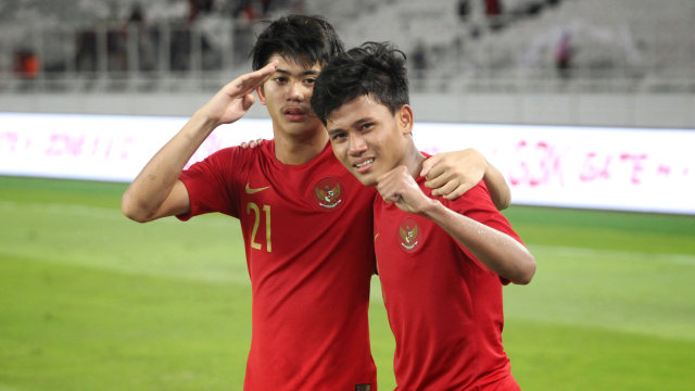 Foto: Laga Timnas U-16 vs China Berakhir Imbang (480126)