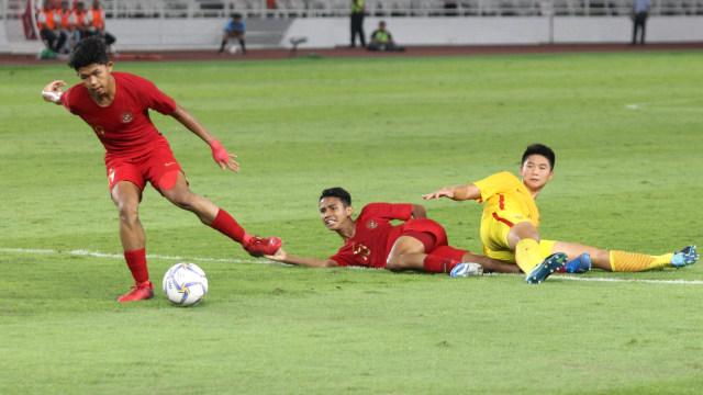 Foto: Laga Timnas U-16 vs China Berakhir Imbang (480116)