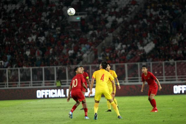 Foto: Laga Timnas U-16 vs China Berakhir Imbang (480122)