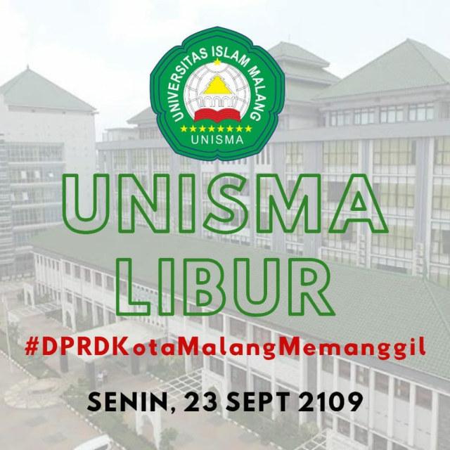 Ada Ajakan Demo di DPRD Kota Malang, Rektor UB: Fitnah  (1237563)