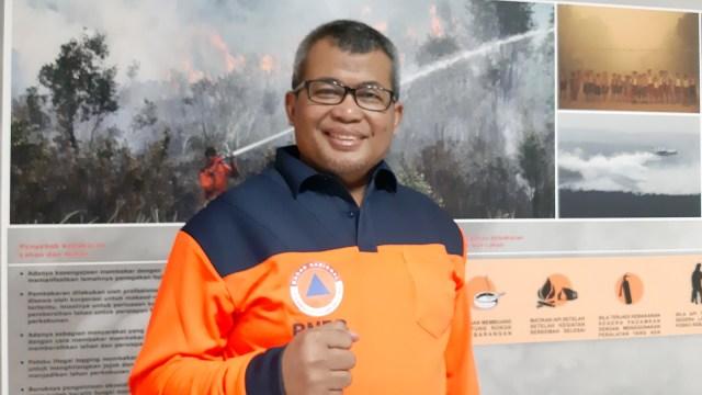 Agus Wibowo Pelaksana Harian (Plh) Kepala Pusdatinmas BNPB