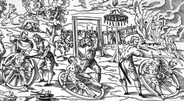 Kerangka Manusia Ini Dibunuh dengan Cara Paling Sadis dalam Sejarah (1)