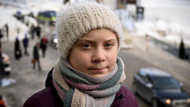 Aktivis lingkungan dari Swedia, Greta Thunberg