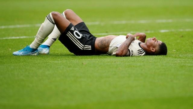Marcus Rashford cedera.