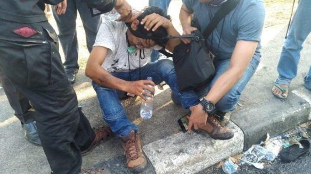 4 Jurnalis Makassar Korban Kekerasan Polisi, Ini Kronologinya (29478)