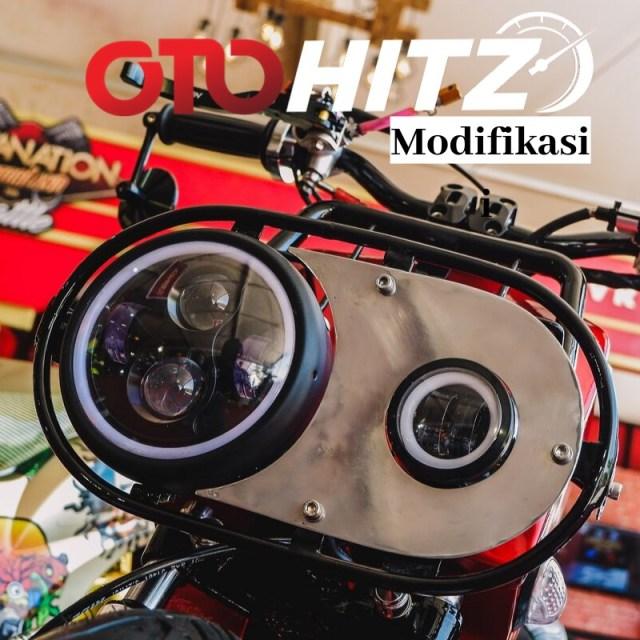Yamaha Mio 'Berbadan' Honda Zoomer (99295)