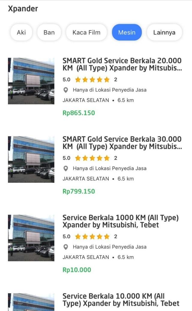 Booking Servis Mitsubishi Kini Bisa Lewat Aplikasi GO-JEK (147815)
