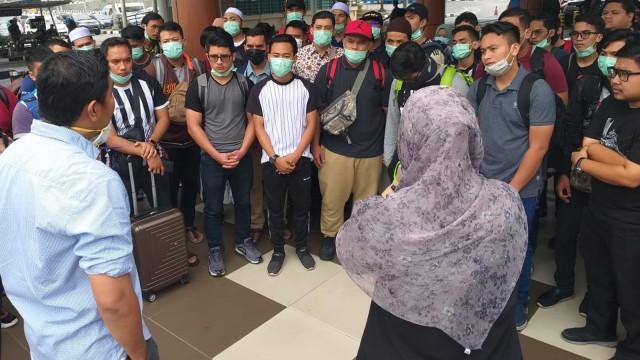Konsulat Malaysia Evakuasi Puluhan Mahasiswa ke Kuala Lumpur  (5213)