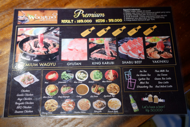 Mencicipi Menu Yakiniku All You Can Eat di Woody.Do Makassar (7171)