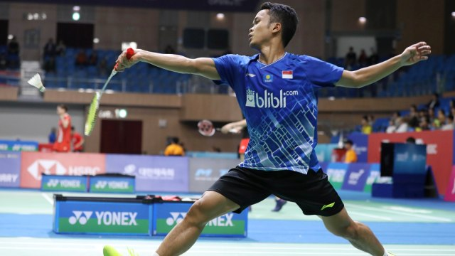 French Open: Anthony Tundukkan Wakil Malaysia dalam Dua Gim (214891)