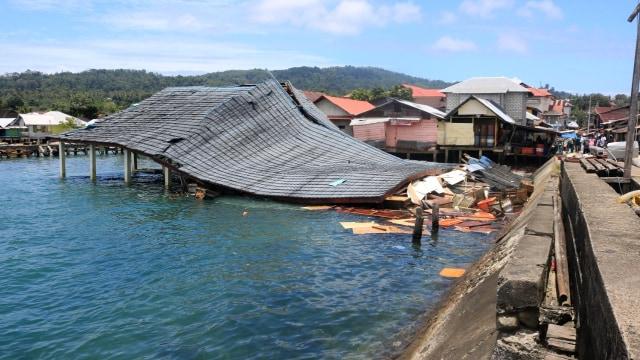 gempa bumi di Ambon