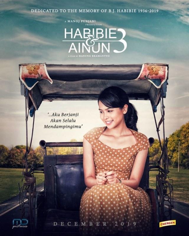 Poster film Habibie & Ainun 3