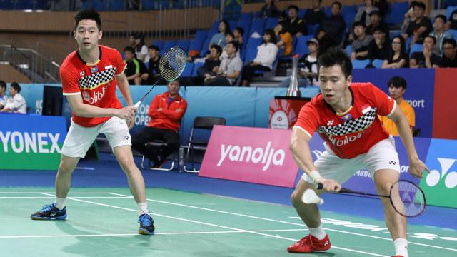 Fuzhou China Open: Singkirkan Ganda Jerman, Marcus/Kevin ke Semifinal (104959)
