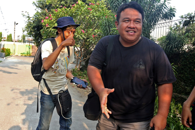 Jurnalis dan Aktivis HAM Dandhy Dwi Laksono