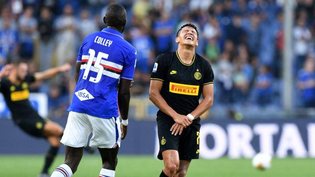 Pelatih Cile Sebut Alexis Sanchez Tak Bahagia di Inter Milan (1260559)