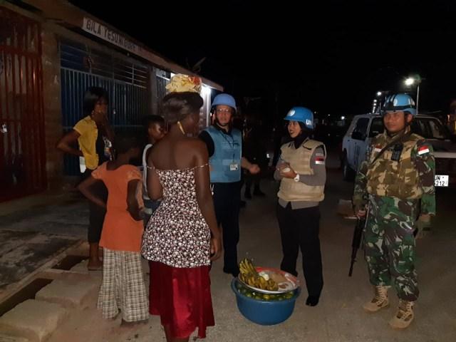 Kisah Polwan asal Pontianak Tunda Bulan Madu demi Misi Kemanusiaan (411605)