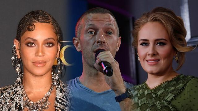 Beyonce, Adele, dan Chris Martin 'Coldplay' Rekaman Bareng (52885)