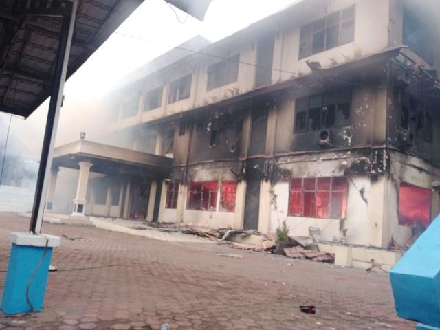 KNPB Manokwari Bantah Tuduhan Polisi Sebagai Dalang Kerusuhan (120659)
