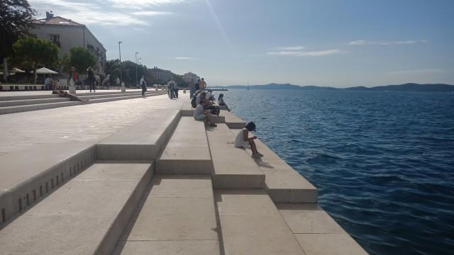 Organ laut di Zadar