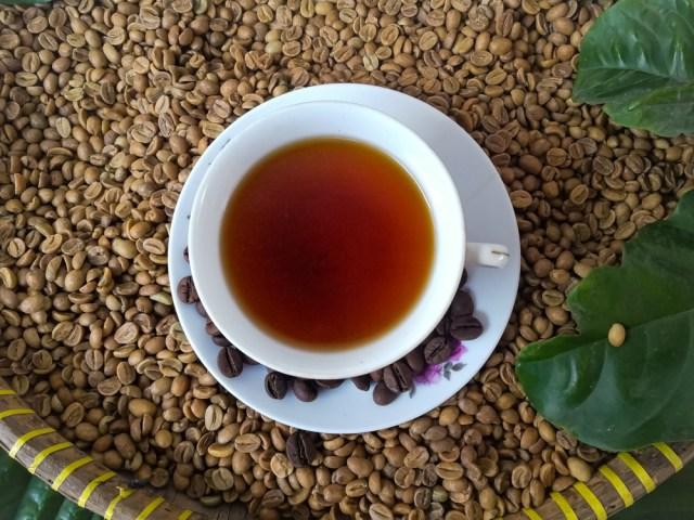 Ilustrasi kopi Jawa