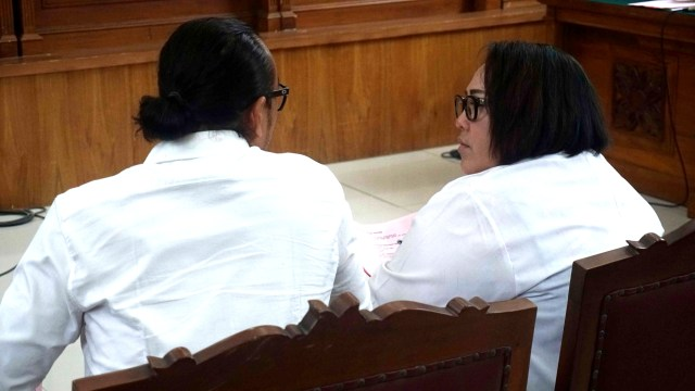 Sidang perdana Nunung dan Iyan Sambiran
