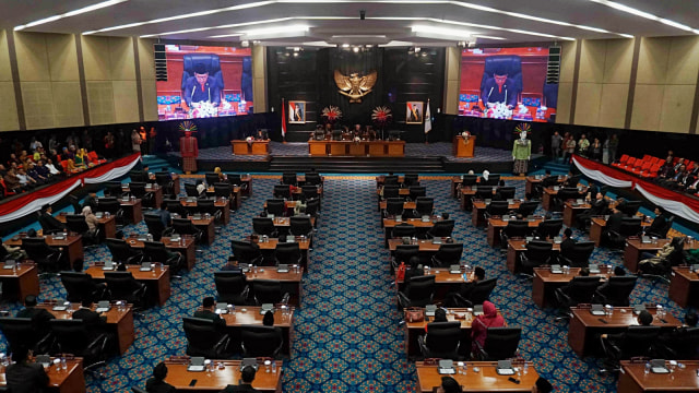 Rapat Paripurna DPRD Provinsi DKI Jakarta