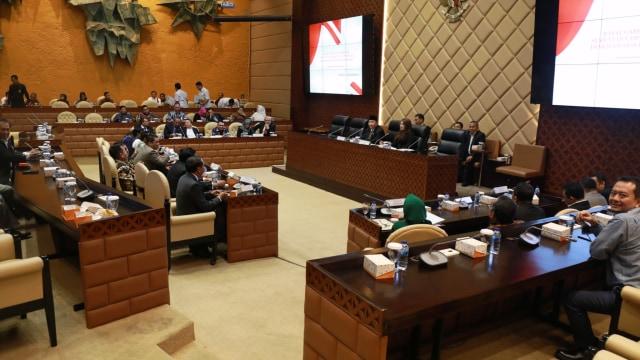 Rapat gabungan pimpinan fraksi DPR dan DPD, Pemilihan pimpinan MPR 2019-2024
