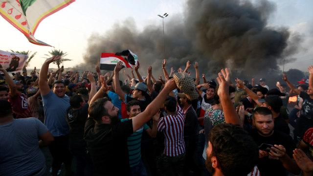Demo di Baghdad, Irak