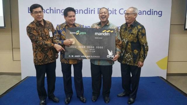 Launching Mandiri Debit Co-Branding