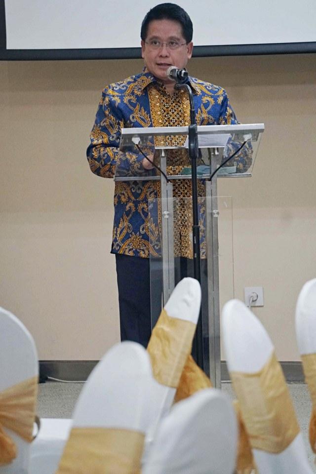 Direktur Bisnis dan Jaringan Bank Mandiri, Hery Gunardi, launching Mandiri Debit Co-branding, NOT COVER