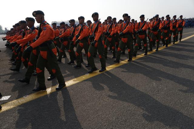 Gladi HUT 74 TNI, Lanud Halim Perdanakusuma