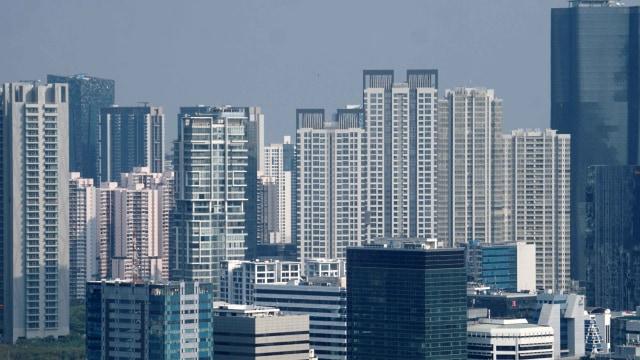 Ilustrasi Gedung Perkantoran Jakarta, Kantor Jakarta