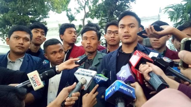 Kelompok mahasiswa temui Moeldoko