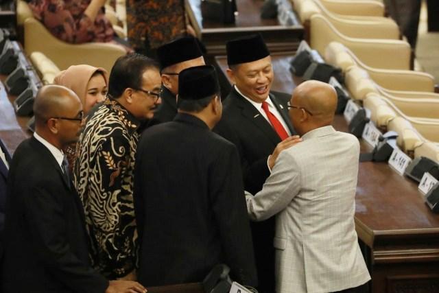 10 Pimpinan MPR 2019-2024 Resmi Dilantik, Bamsoet Ketua  (325107)