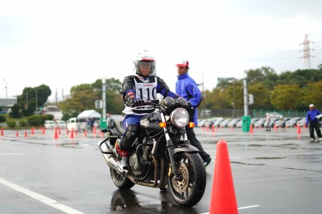 Lomba safety riding Honda di Jepang