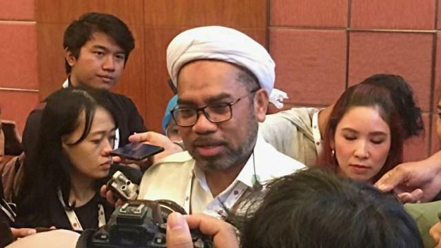 Tenaga Ahli Utama Kantor Staf Kepresidenan, Ali Mochtar Ngabalin, Hotel Mandarin